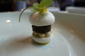 Imperial caviar, sprat, yuzu