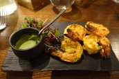 Saffron & Dill Jhinga - Tandoor Cooked Tiger Prawns with Saffron, Yoghurt and Spices