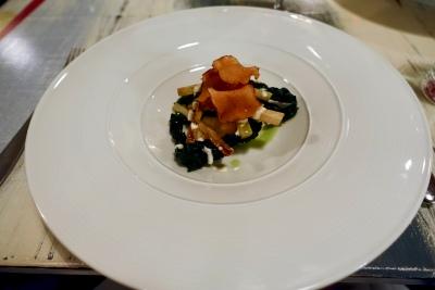 Plaice, Kale, Horseradish Buttermilk, Salsify