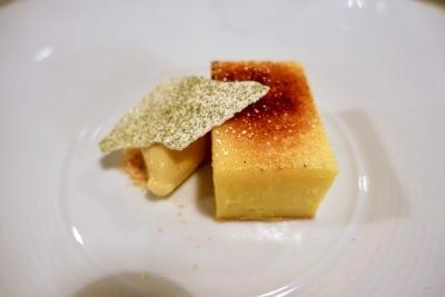 Lemon and Passionfruit Tart, Banana sorbet