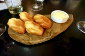 Madeleines and Lemon Curd
