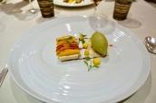 Mango, Thai Spiced Cream, Thai Green Curry Sorbet