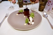 Chocolate Delice, Milk Ice Cream, Beurre Noisette and Butterscotch