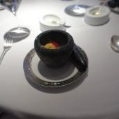 English Breakfast Tea Sorbet, Mint