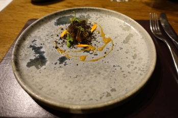 Artichoke with truffle and Ragstone