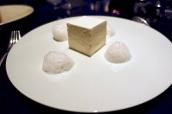 The White Millefeuille - Tahitian vanilla cream, Jasmine jelly and Voatsiperifery pepper foam