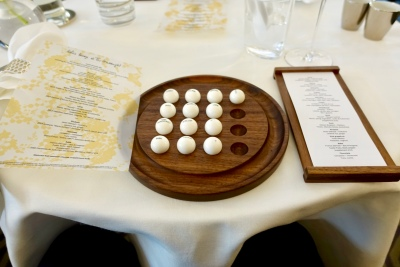 Ping Pong Ball Menu