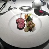 Braised, confit and roasted Herdwick Lamb, spring vegetable 'navarin'