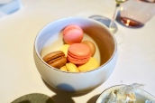 Macaroons - Passion Fruit with Salted Caramel, Chocolate, Rose