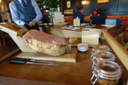 Ploughman's - Honey Roast Ham, Mrs Kirkham Cheese, Homemade Pickles