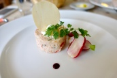 Potted Trout & Crayfish, Radishes