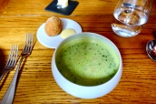Pea & Ham Soup, Scotch Egg