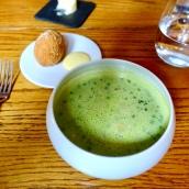 Pea & Ham Soup, Scotch Egg