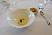 Passionfruit Curd, Sauternes and Olive Oil