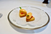 Sable biscuit with Red Pepper